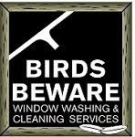 Birds Beware Window Washers Icon