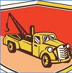 ABS Towing Icon