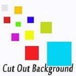 Cut Out Background Icon