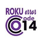 Roku Error Code 014 Icon