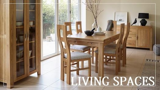 Beautiful Bedroom, Dining & Living Room oak Furniture