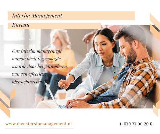 Interim Bureau, Meesters in Management