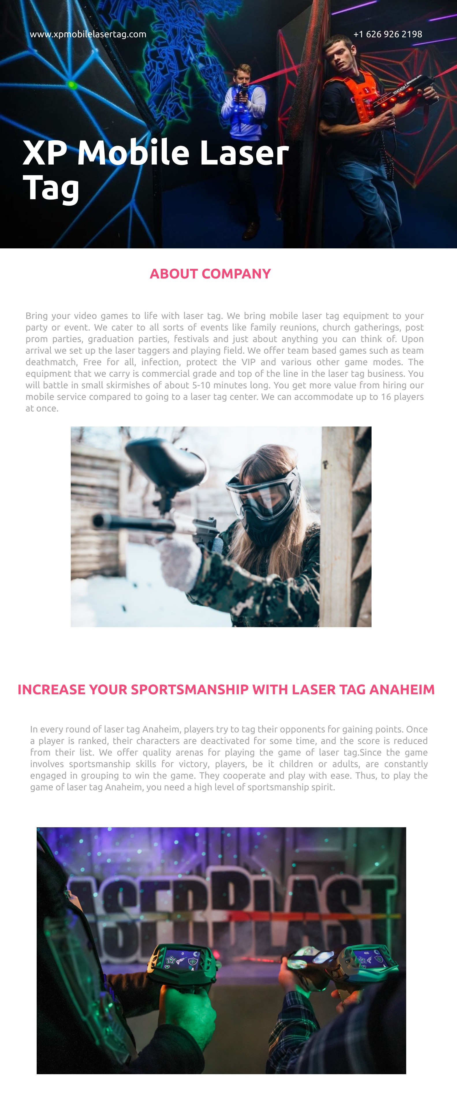 Enhance your team-building skills with laser tag Pomona