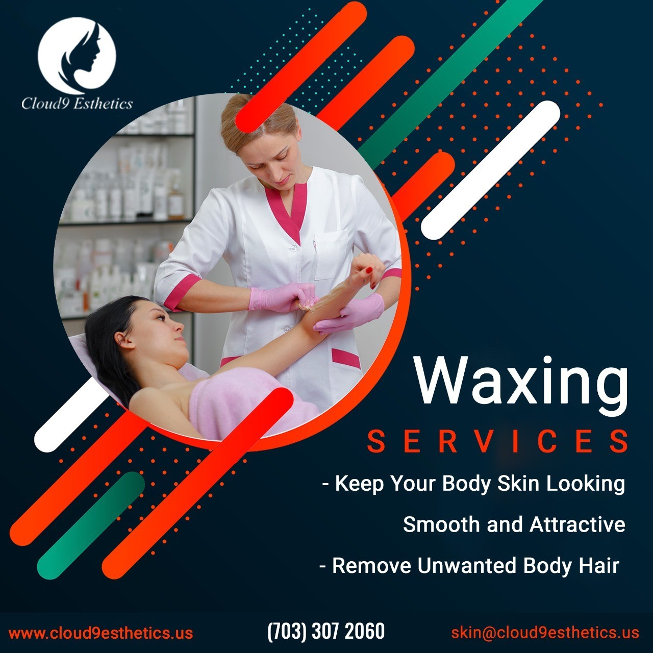 Best Waxing Services in Gainesville, Manassas | Hair Removal Services near you