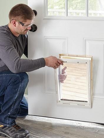 Dog doors installation Caboolture