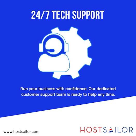 Dedicated Customer Support   Best VPS Hosting   Hostsailor
