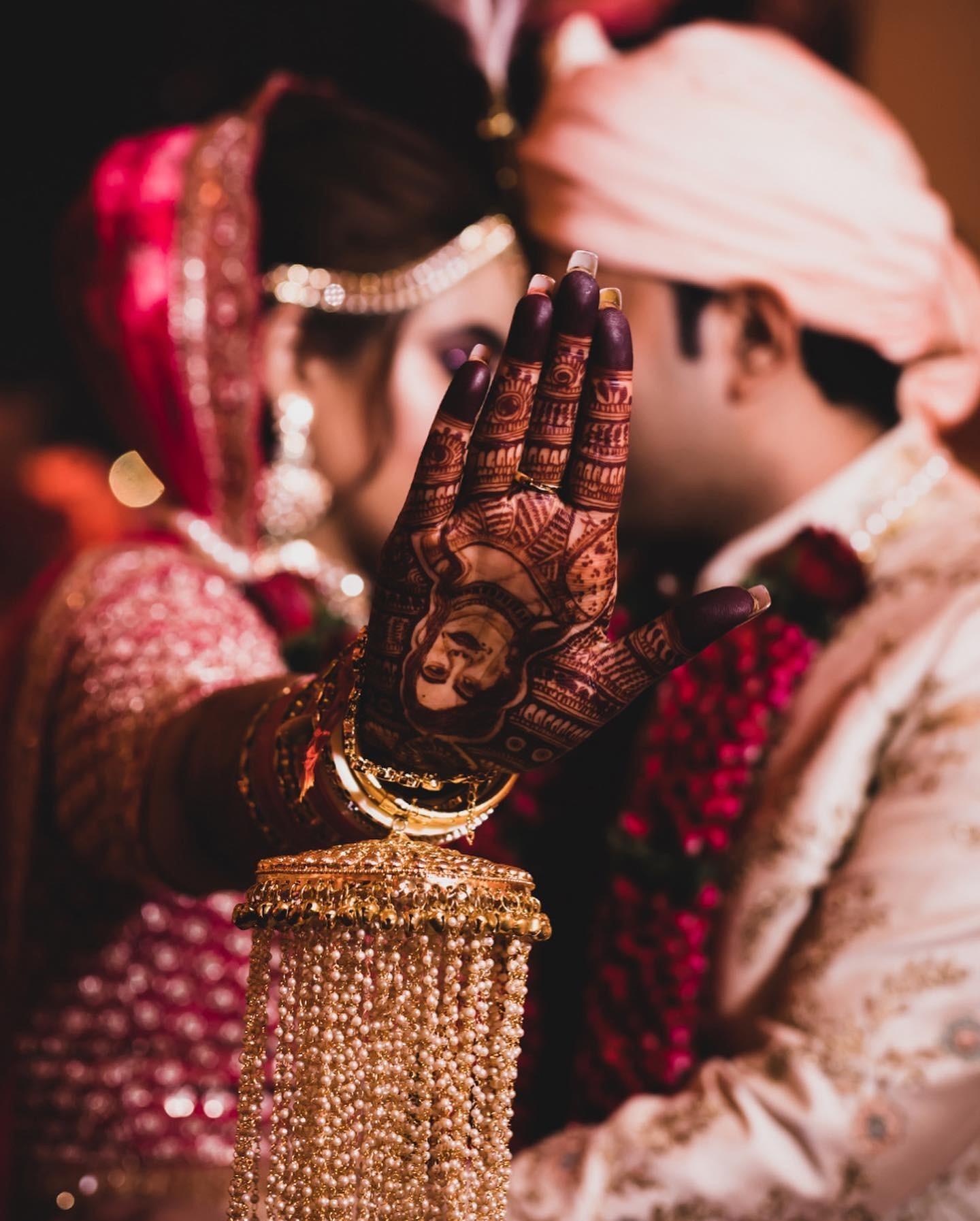 Indian Bride Mehndi - 7Vows Production