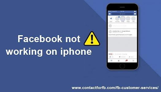 Facebook not working on iPhone