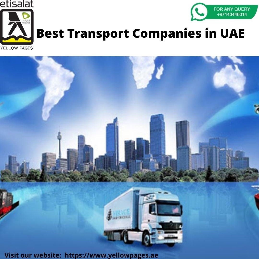 Transport Companies in UAE