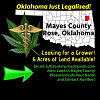 Looking for a Grower, Oklahoma Land is Available!