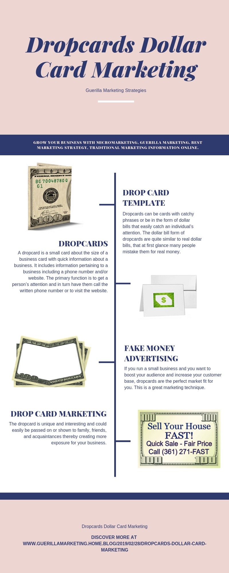 Drop Cards: Dollar Card Marketing & Guerilla Marketing Strategies