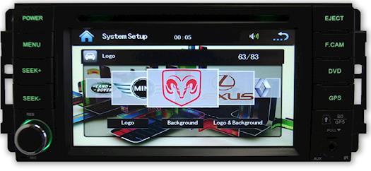 Dodge Charger 07-11 GPS Navigation Radio