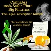 Cannabis, 100% Safer Than Big Pharma!