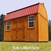 Side Lofted Barn