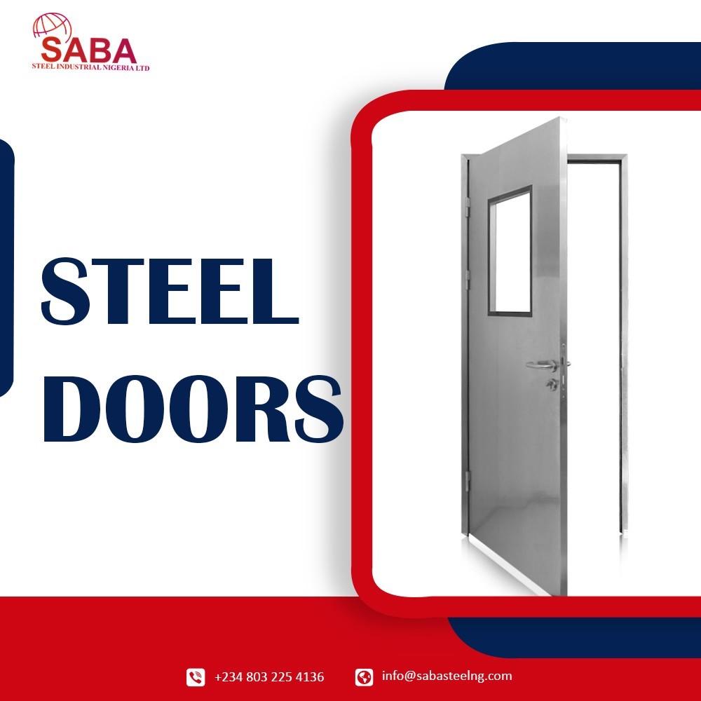 Best quality of Custom Design Steel Doors in Nigeria