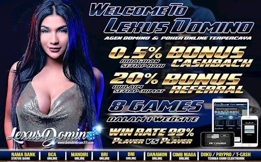 Link Alternatif Lexusdomino | Agen Domino Terpercaya Indonesia | Agen Poker Online