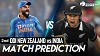 New Zealand Vs India 2nd ODI Match Prediction, IND Vs NZ