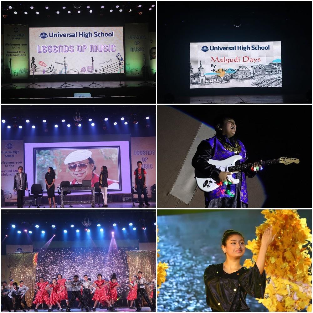 Annual Day Celebration 2019-20 In Universal High School Thane