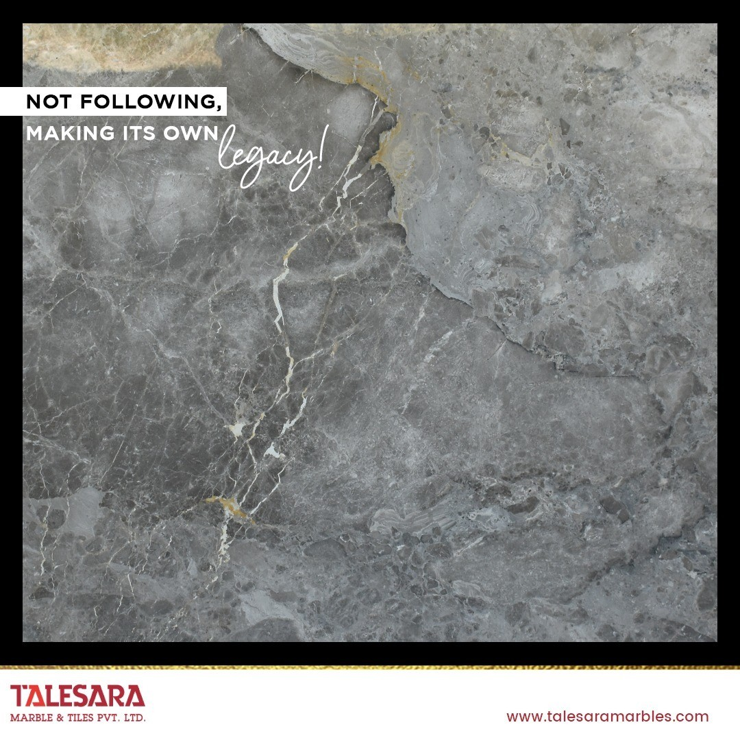 Build a mesmerizing entrance with Talesara Marble!