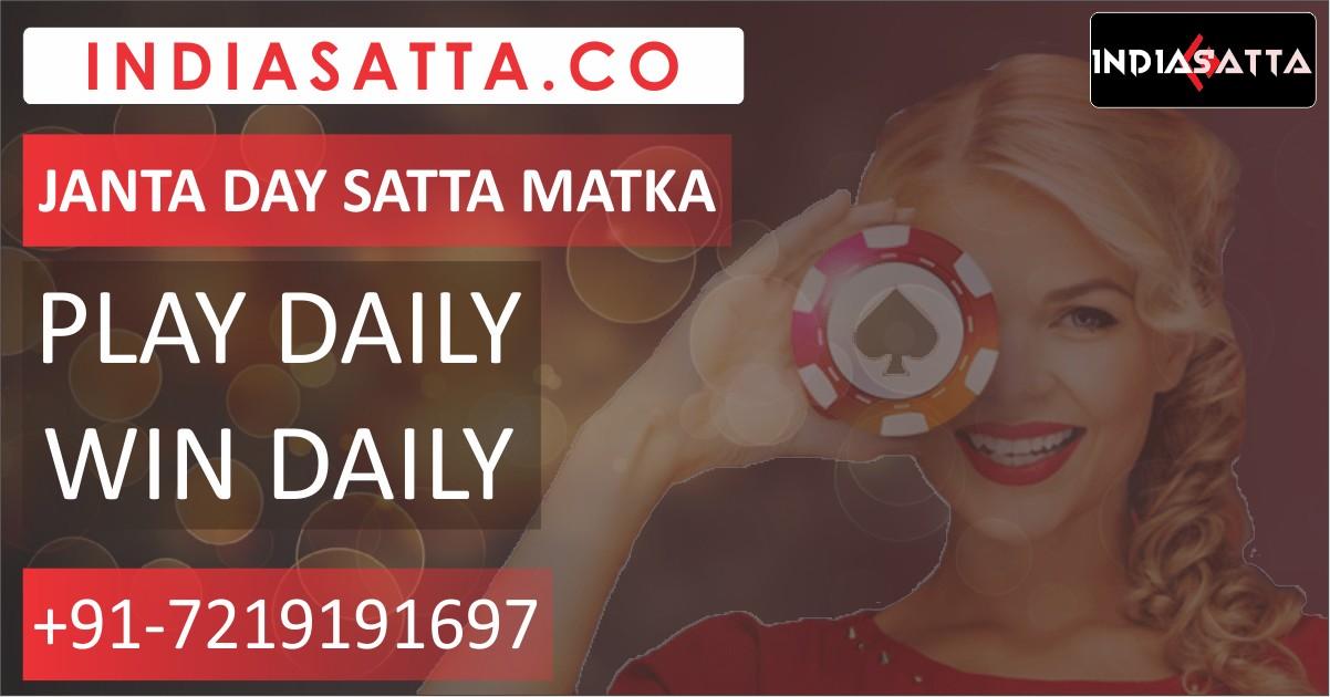 Janta Day Satta Matka