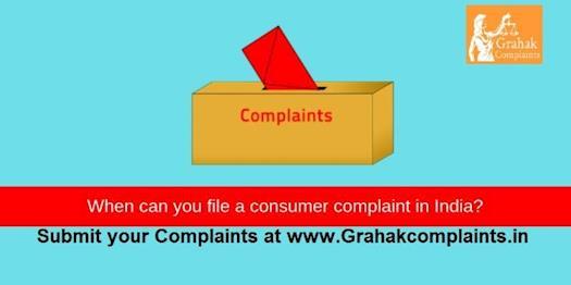 grahak complaints