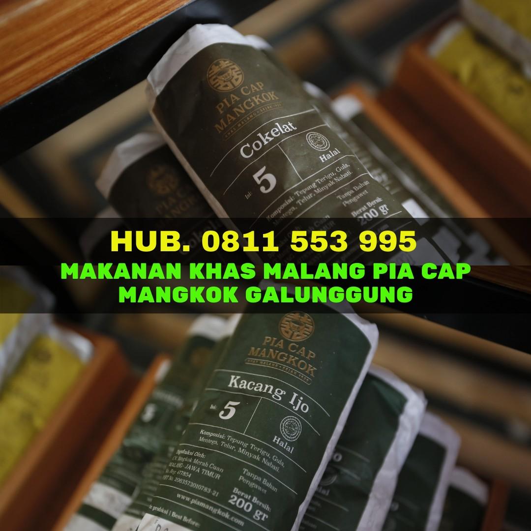 Hub. 0811 553 995, Makanan Khas Malang Pia Cap Mangkok Galunggung