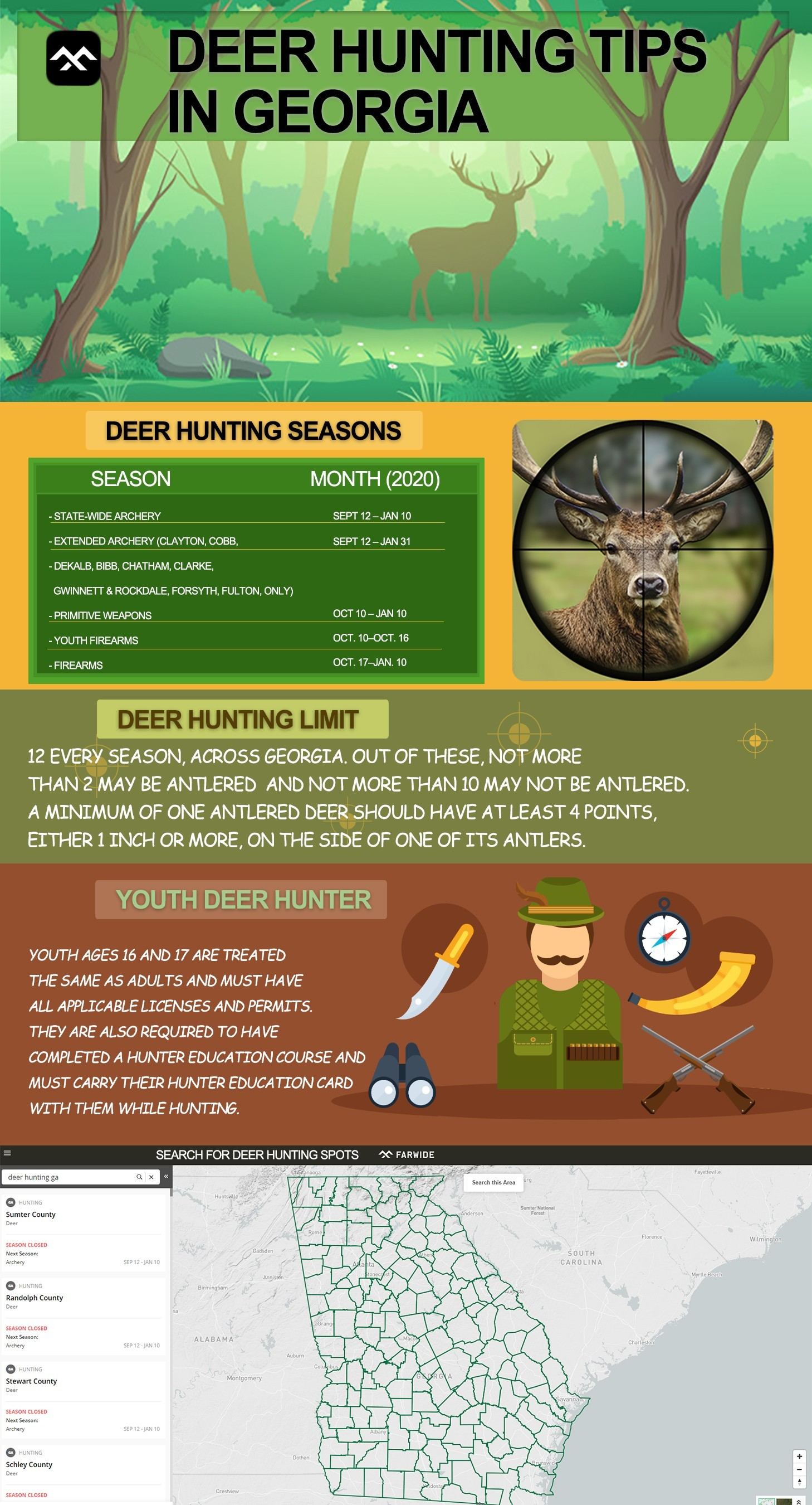 Deer Hunting Tips in Georgia