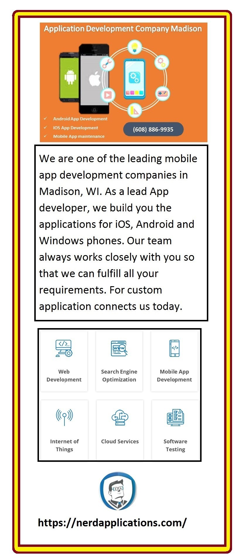 Mobile App Development Company Madison, WI