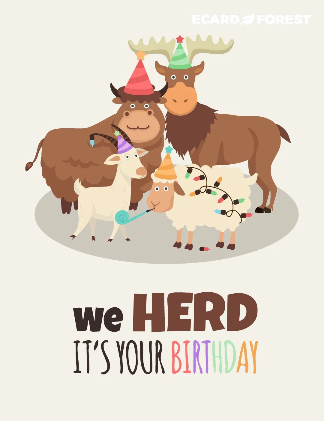 herd its your birthday