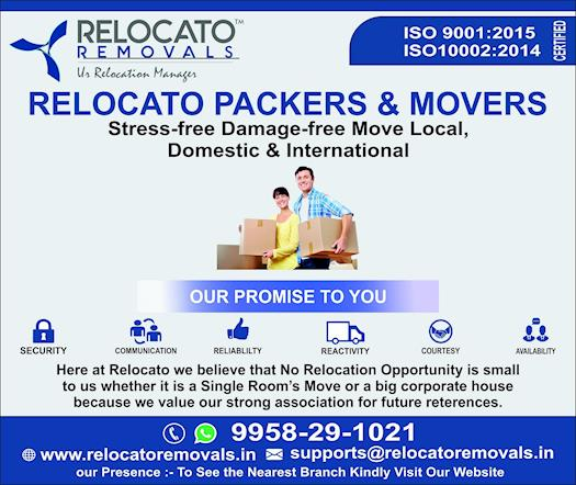 Make your relocation best and easy with packers and movers in Delhi