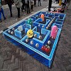 3D Street Painting by Leon Keer