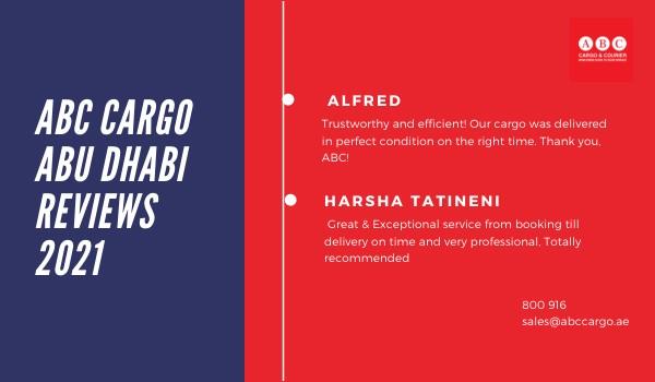 ABC Cargo Abu Dhabi Reviews 2021