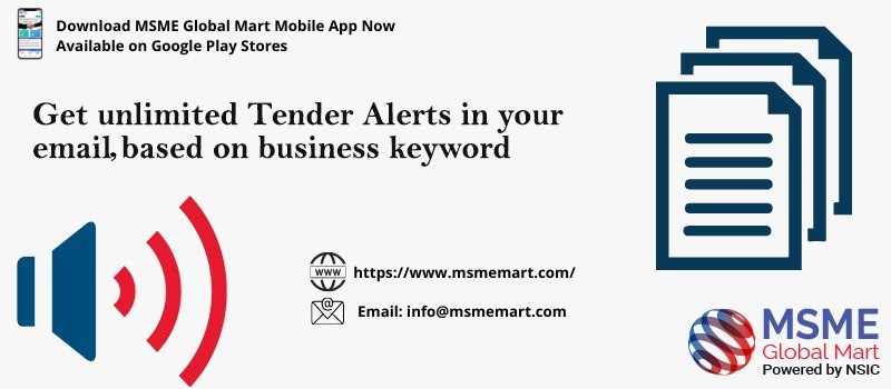 Get unlimited tender alert in your email