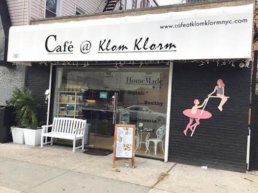 Cafe at Klom Klorm Brooklyn NY