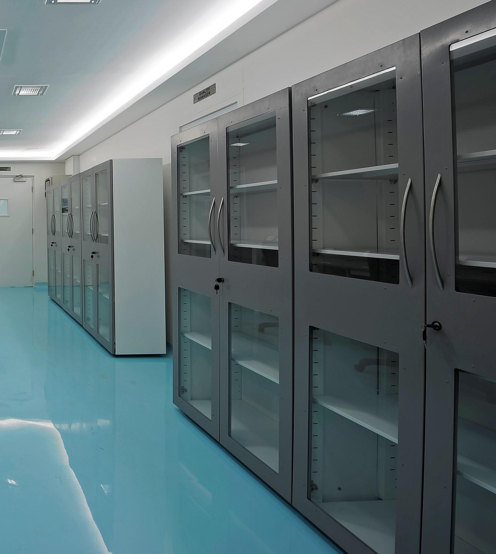 Glassware/File Storage Cabinet