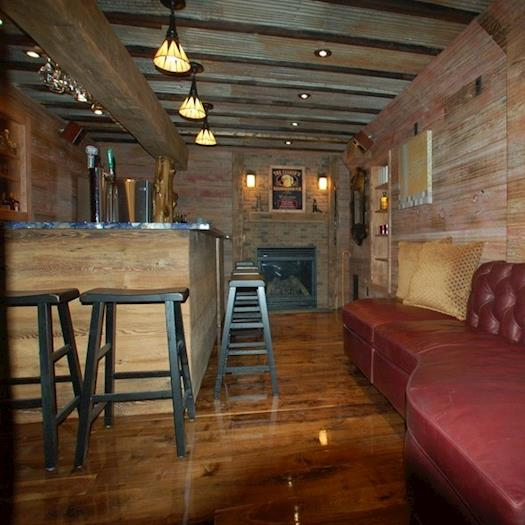 Irish Pub in home basement