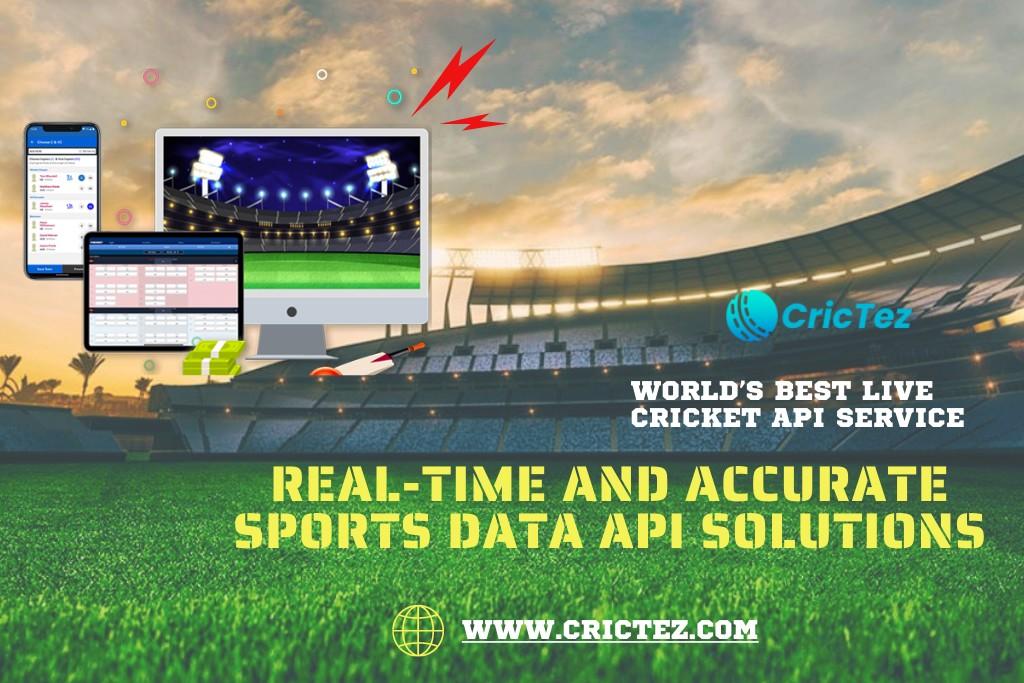 Free Live Cricket API | One Stop Solution for Cricket Api - CricTez