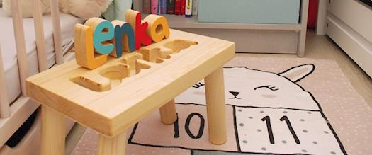 Puzzle name stool