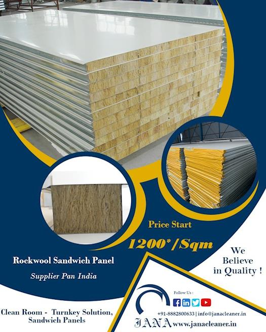 Rockwool Sandwich Panel Manufacturer