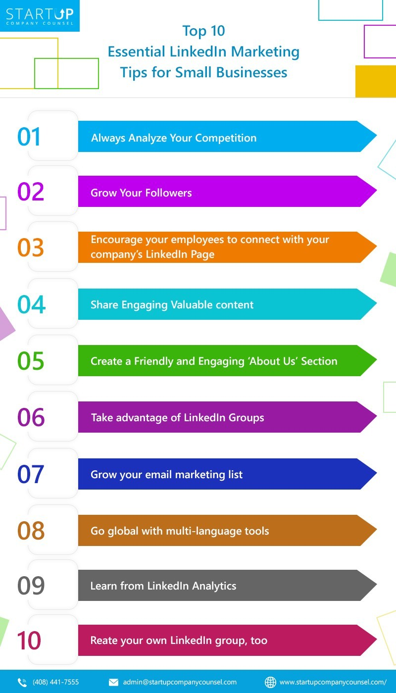 Top 10 Essential LinkedIn Marketing Tips for Small Businesses
