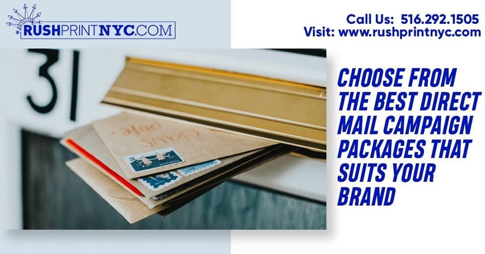 Choose from the Best Direct Mail Campaign Packages that Suits Your Brand