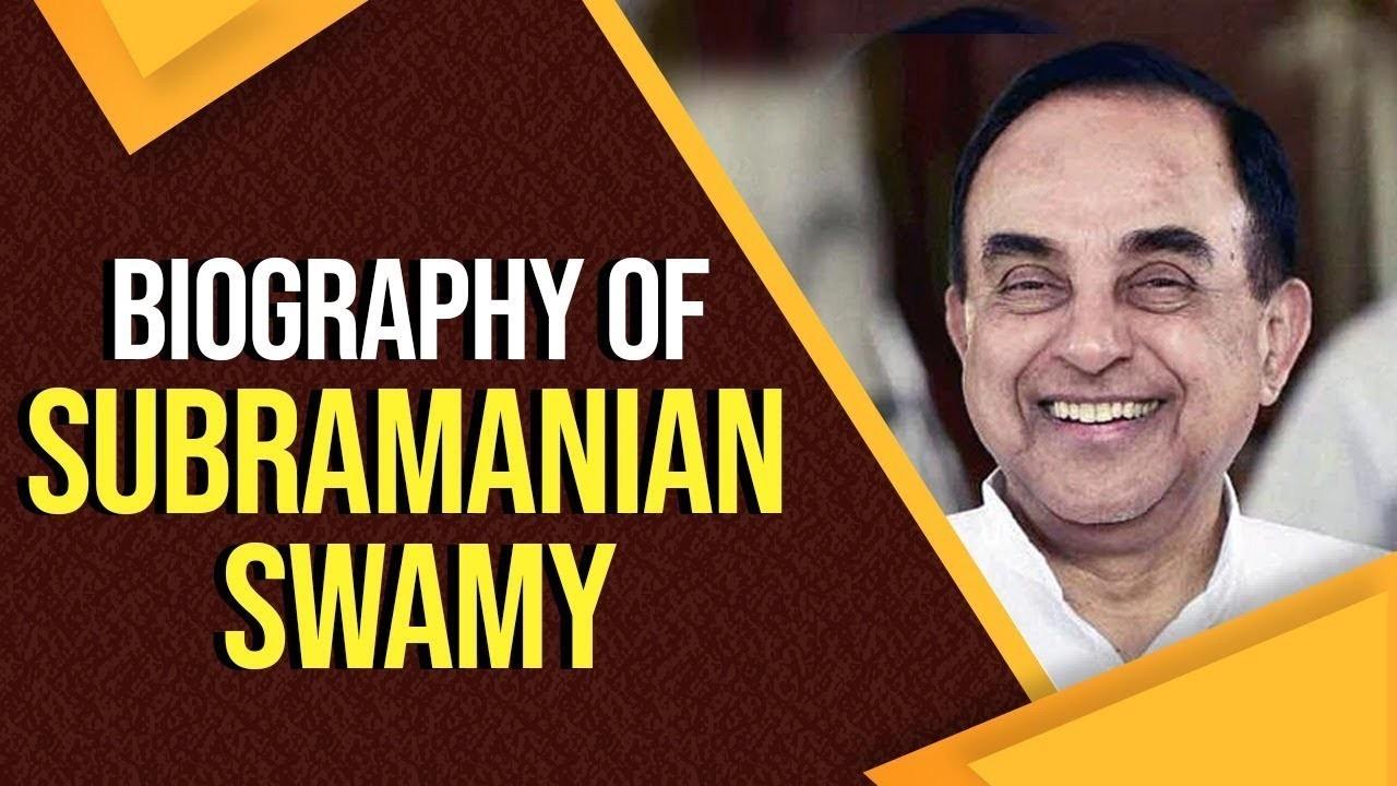 Subramanian Swamy Twitter   Subramanian Swamy Biography