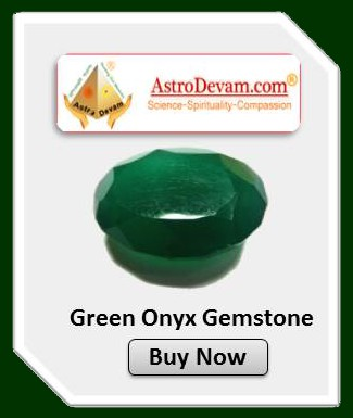 Certified and Pure Green Onyx Gemstones Online at Best Price