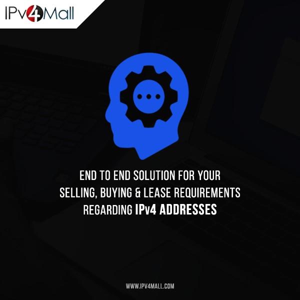 IPv4 Brokerage Services | Buy, Sell or Rent IPv4 Address