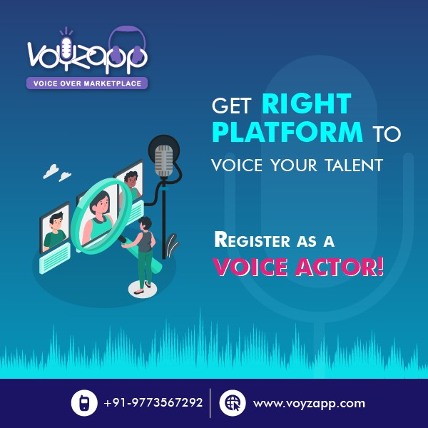Voyzapp Voice Actor