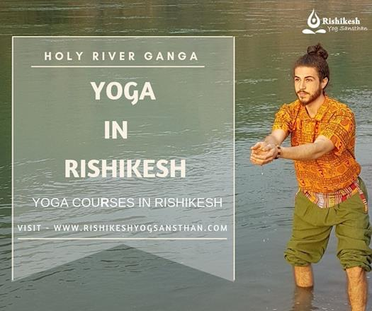 Yoga Alliance Certified Yoga Teacher Training in Rishikesh