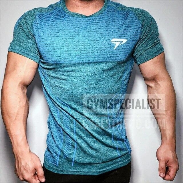 Men Quick Dry Soft Cotton Sports T-Shirt