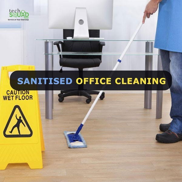 Sanitized Corporate Office Cleaning Services in Bangalore