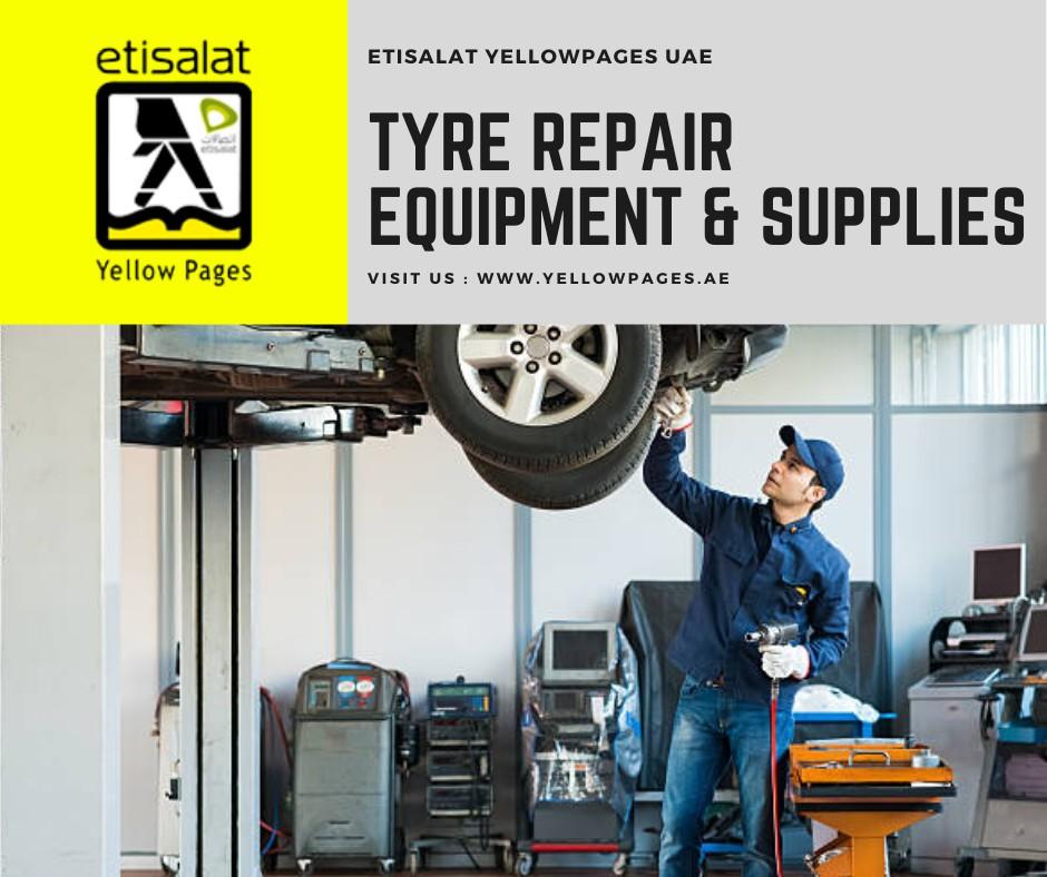 List of Tyre Repair Equipment & Supplies in UAE