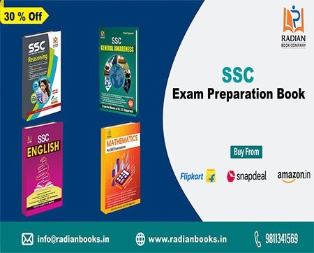 Best SSC Exams preparation books by the Radian Book Company